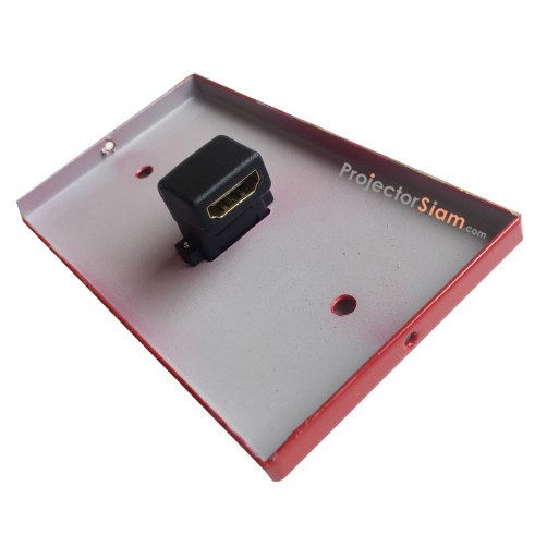 Wall Plate HDMI Red